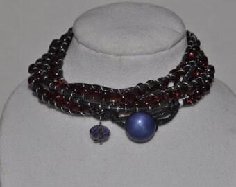 SALE! Triple Wrap Bracelet Red #525