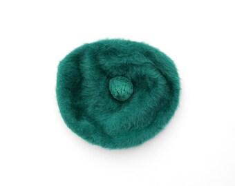 Vintage Kangol Beret Hat // Pom Pom Beret