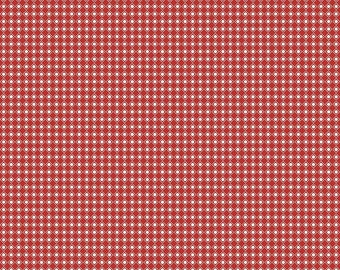 Offshore Dot Red - Deena Rutter for Riley Blake designs - nautical, red fabric, modern geometric, dot fabric, polka dot fabric by the yard