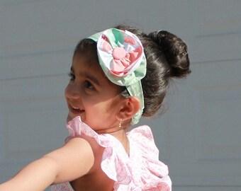 Fabric Headband Baby Girls Headband