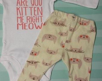 Are You Kitten Me Right Meow Onesie/Tee