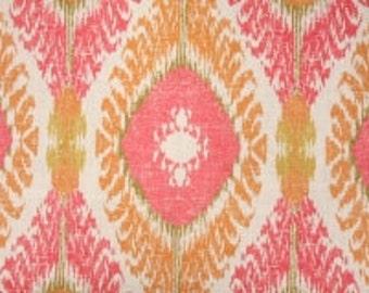 Fabric by the Yard Richloom Chimayo Coral