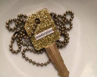 "Masterpiece ""Truth Key"" Necklace"