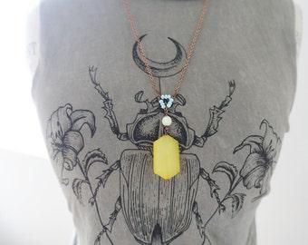 Tribal Inspired Boho Summer Necklace