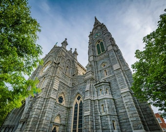 Corpus Christi Church, in Bolton Hill, Baltimore, Maryland.   Photo Print, Stretched Canvas, or Metal Print.
