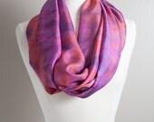 Hand Dyed Silk - Infinity...