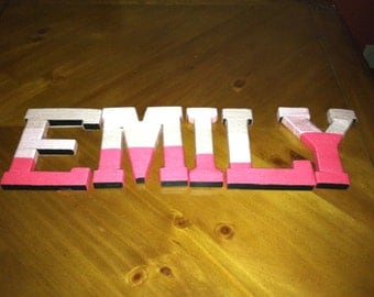 Wrapped Monogram Letters