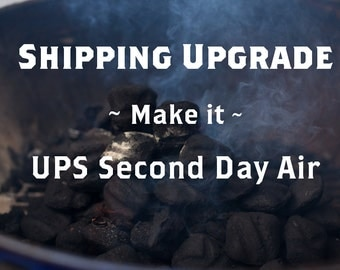 Upgrade Shipping to UPS 2nd Day Air