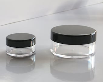 One Sifter Jar for Mineral Makeup Powder Reusable Recyclable Read Description for Style and Size Options
