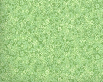 Green fabric by the yard - green floral fabric by the yard - #16424