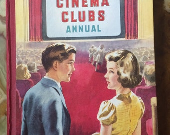 Boys and Girls Cinema Club Annual childrens book Author Robert Moss  Editor & Compiler