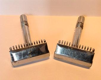1930s Gem Micromatic Single Edge Safety Razor. One Left! Mens Shaving. Vintage Safety Razor. Retro Gem Micromatic SE Razor. Antique Razors.