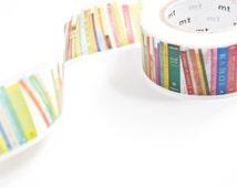 mt Book Washi Tape - Library Masking Tape - Book Shelf Washi Tape in Australia