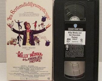Willy Wonka VHS