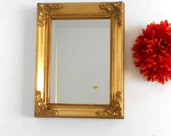 Wall narrow mirror etsy for Narrow wall mirror decorative