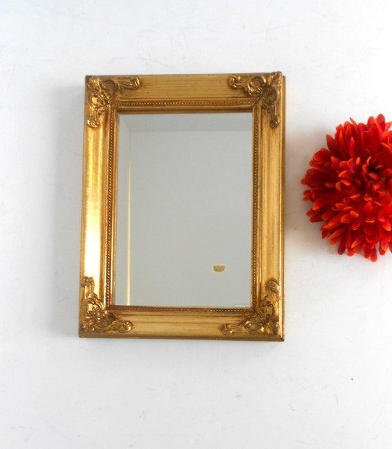9 x wall mirror gold mirror decorative for Narrow wall mirror decorative