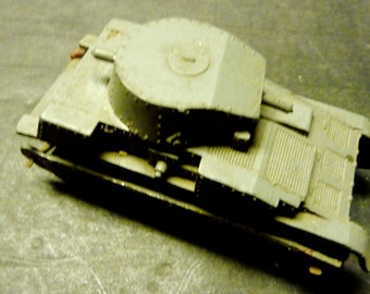 50% OFF -Meccano Dinky Pre -War No. 22F lead bodied tank-rare.