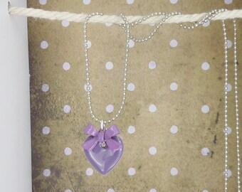chain • Rockabella • hearts purple
