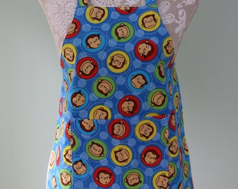 Children's Apron - Curious George