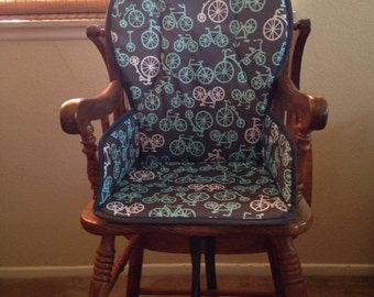 Wooden High Chair Cover (Design Your Own)