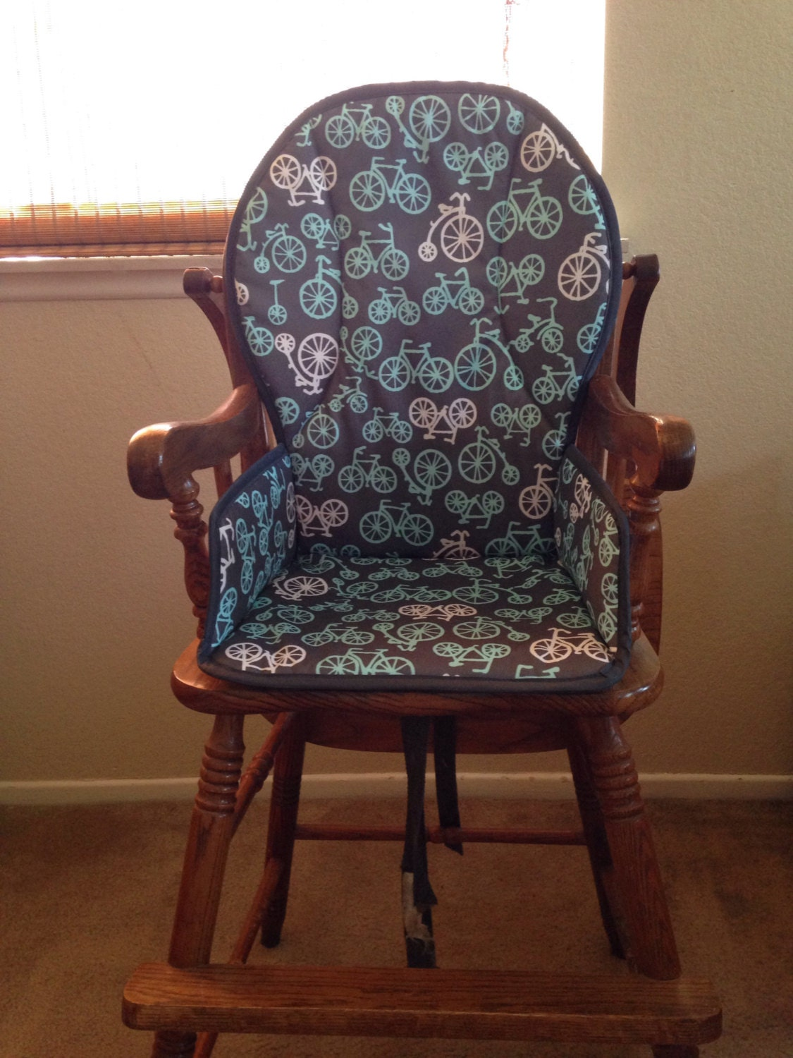Wooden high chair cover design your own for Chair cover design