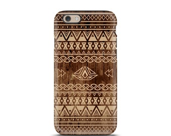 iPhone 7 case tough, iPhone 7 Plus case tough, iPhone 6s case tough, iPhone 6 case tough, iPhone 5s case tough, personalized iPhone - Aztec