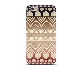 Tribal iPhone 7 case, iPhone 5s case, iPhone 7 Plus case, iPhone 5 case, iPhone 6 case, iPhone 6s case, iPhone 7 tough case - Ombre
