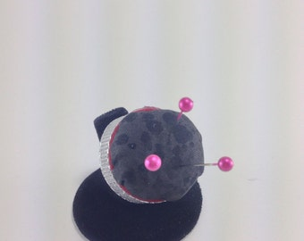 Bottlecap pincushion ring