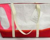 Recycled sails, recycled sail bag, nautical tote bag, sailcloth bag