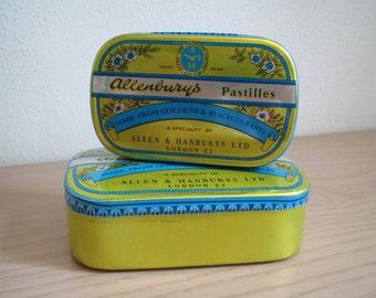 Allenburys Pastilles Tins