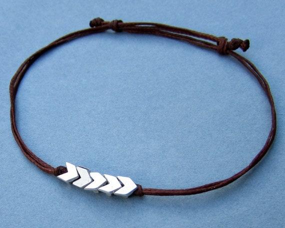 Arrowhead Mens Bracelet Anklet Women Bracelet Anklet Beach Summer Anklet Adjustable