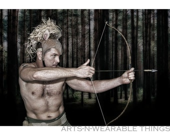 "Fantasy Photography ""Archer"" 13x19 bordered photo print"