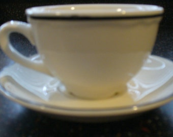 SALE! Vintage Homer Laughlin Cup and Saucer