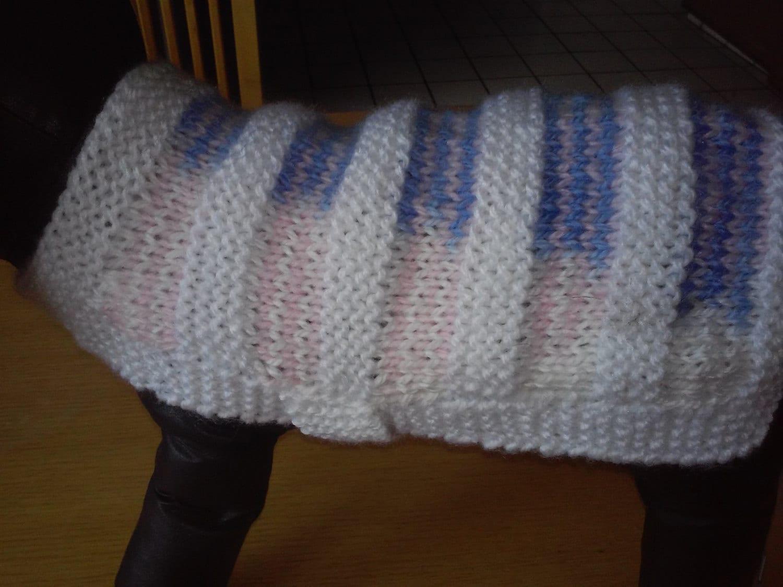 Toy Knitting Pattern : Small Dog CoatHand Knit Dog Sweater / Dog Jacket / Small Dog