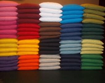 "Set of 8 Mini 4"" Cornhole Bags - Choose from 20+ colors"