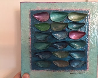 Mussel Shell Painting