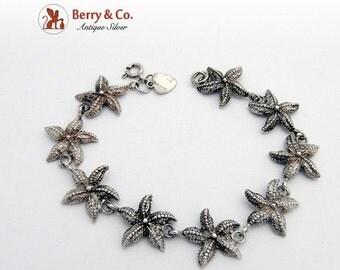 SaLe! sALe! Sterling Silver Star Fish Bracelet