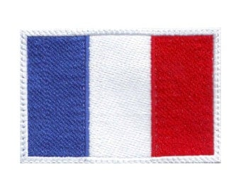 France Flag Embroidered Patch