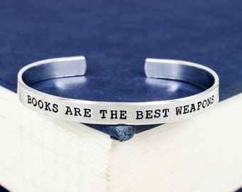 Books Are The Best Weapons Bracelet
