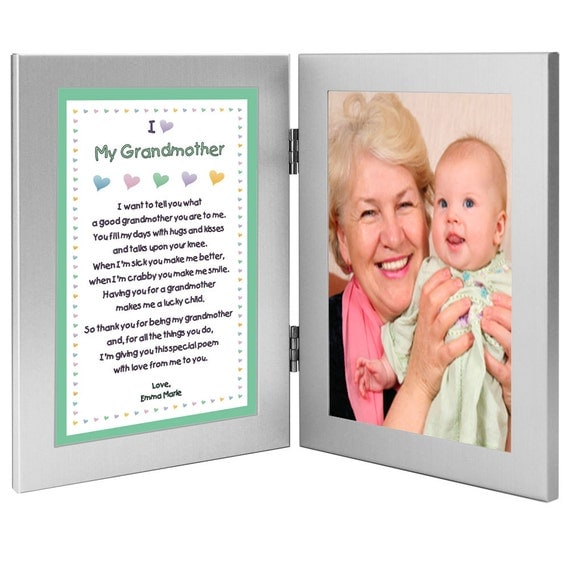 Birthday or christmas gift for grandmother from grandchild for Birthday gifts for grandma from granddaughter
