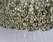 TOHO Seed Bead 11/0 ~ Galvanized Aluminum - Permanent Finish, 8 Grams (TR-11-PF558) N-22