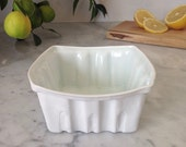 Heritage Edition White Porcelain Berry Basket- Large