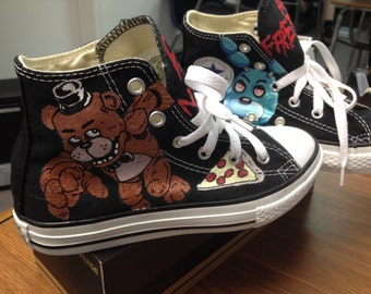 Five Nights At Freddy's Custom Shoes