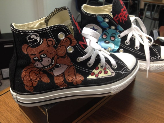 Five Nights At Freddy S Custom Shoes