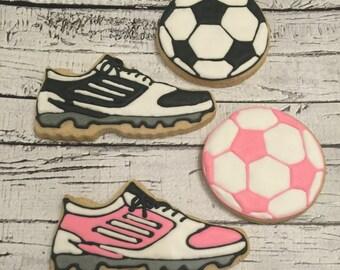 Soccer cookies - 1 Dozen