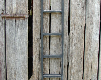 """Decorative Wood Ladder 4 foot"""" long X  12"""" wide Choice of colors or size."""