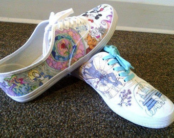 Customized Doodle Shoes