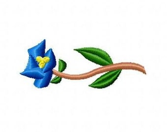 Embroidery pattern - Flower3 - in 3 sizes