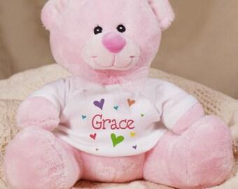 Personalized All Heart Plush Teddy Bear