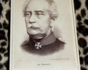 old picture cdv Von Stienmetz CDV cOLLECTIBLE